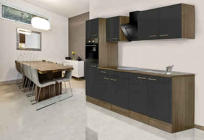 Respekta Küchenzeile mit E-Geräten »York«, Breite 270 cm Sale Angebote