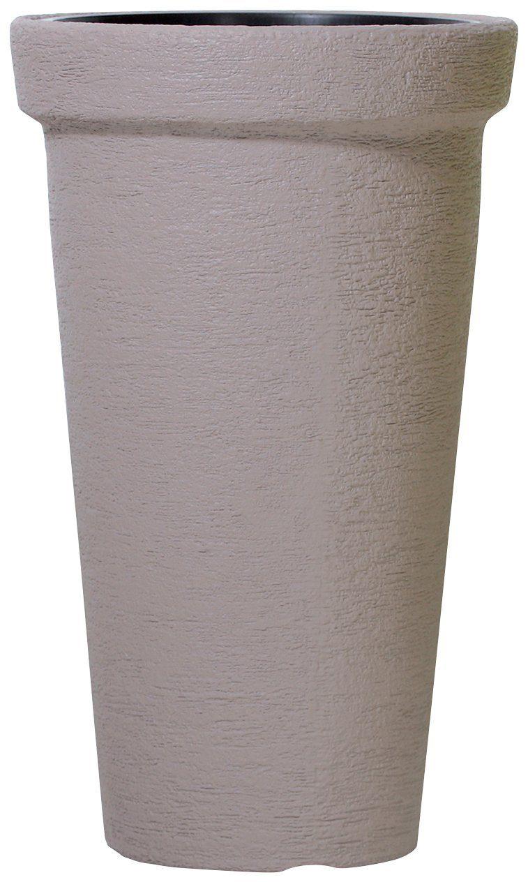 Blumentopf »Classic Tower 400«, mocca, Ø/H: 40/63 cm