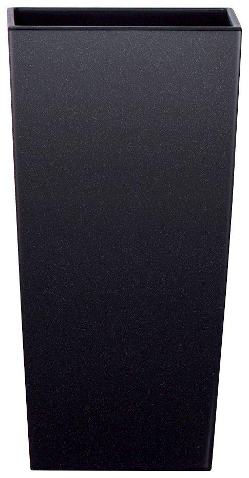 Blumentopf »Urbi Square 325«, schwarz, B/T/H: 33/33/61 cm in schwarz