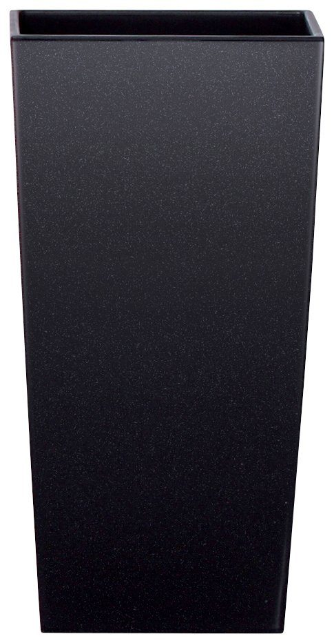 Blumentopf »Urbi Square 325«, schwarz, B/T/H: 33/33/61 cm