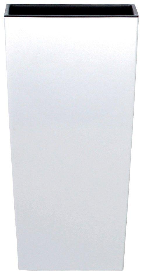 Blumentopf »Urbi Square 325«, weiß, B/T/H: 33/33/61 cm in weiß