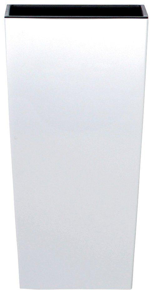 Prosperplast Blumentopf »Urbi Square 325«, weiß, B/T/H: 33/33/61 cm