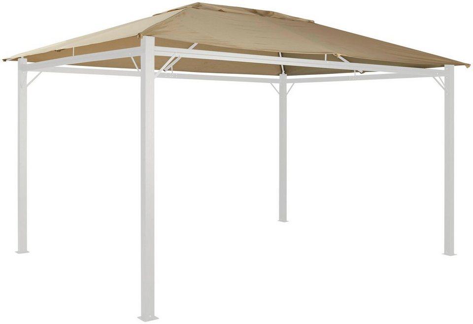 ersatzdach f r pavillon alu sandfarben in 2 gr en. Black Bedroom Furniture Sets. Home Design Ideas