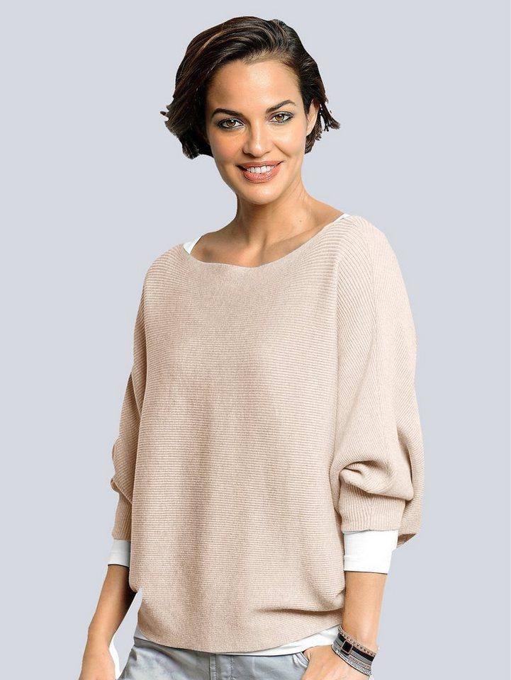 Alba Moda Pullover in naturmelange