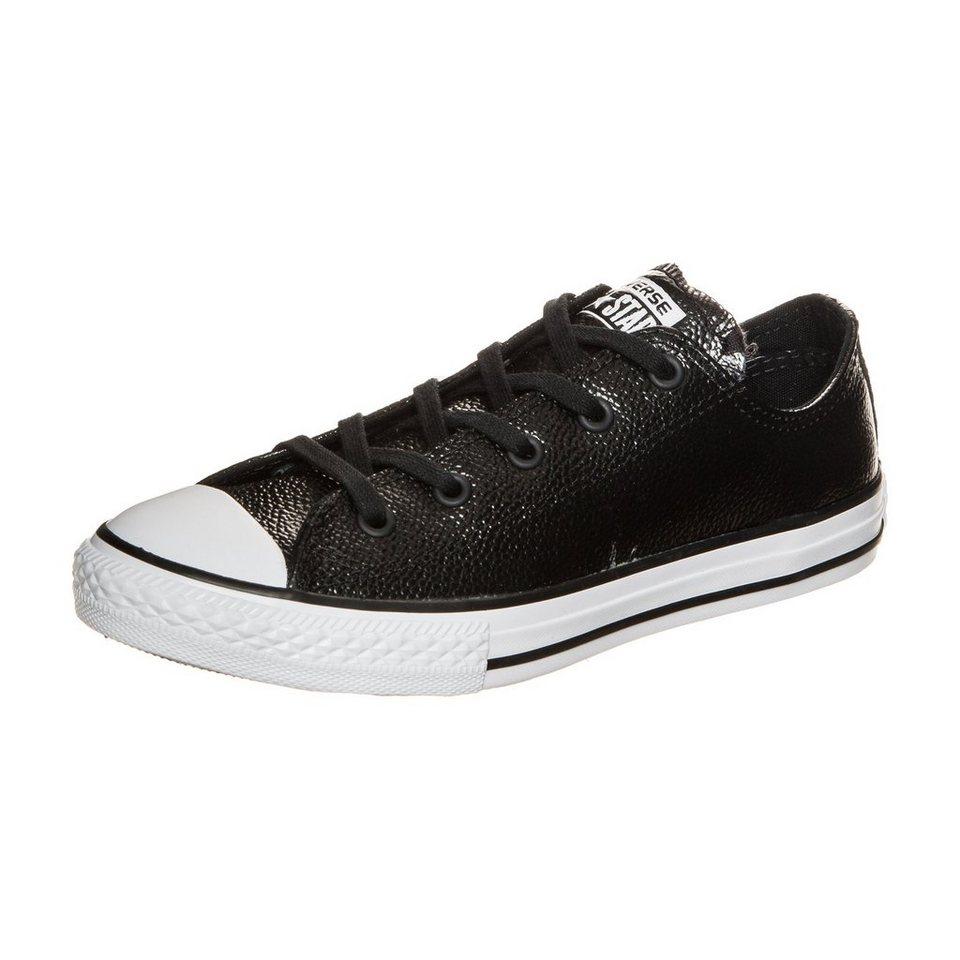 CONVERSE Chuck Taylor All Star OX Sneaker Kinder in schwarz / weiß