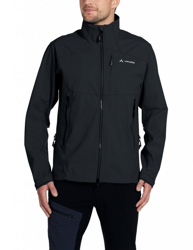 VAUDE Softshelljacke »Roccia Softshell Jacket Men« in schwarz