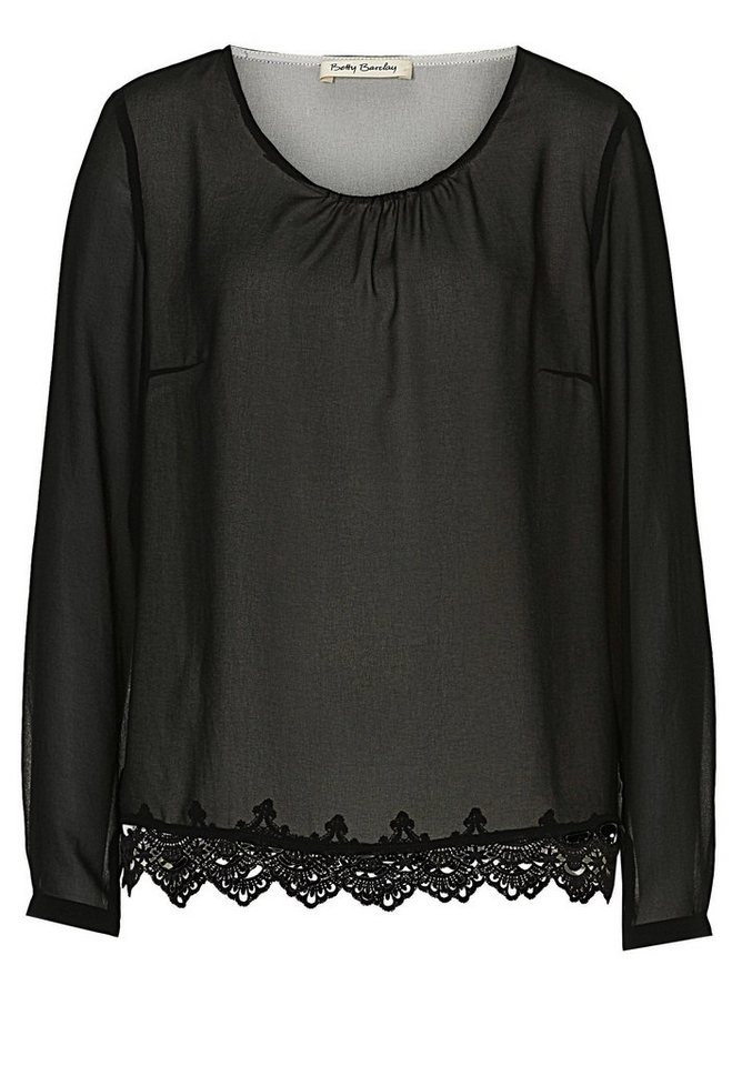 Betty Barclay Schwarze Bluse in Schwarz - Bunt