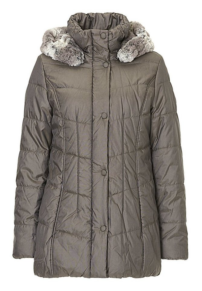 Betty Barclay Outdoorjacke in Dunkelgrau - Bunt