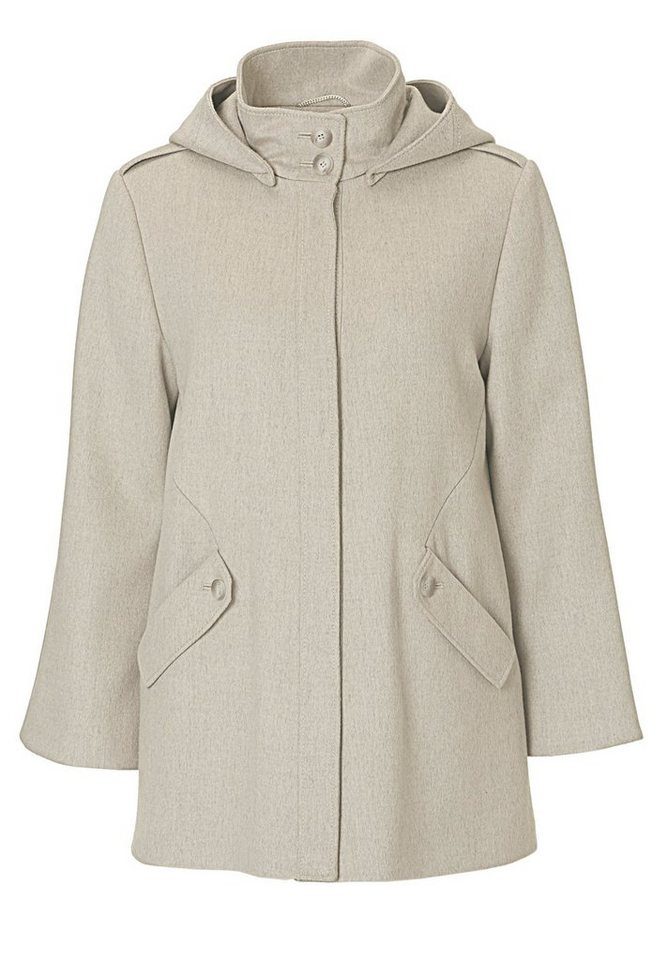 Betty Barclay Jacke in Nature-Grey - Bunt