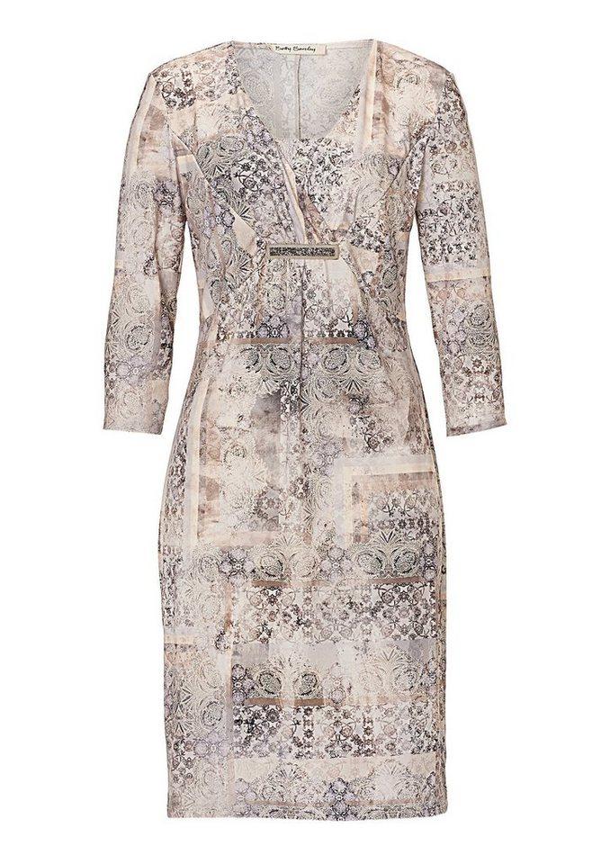 Betty Barclay Kleid in Beige/Grau - Bunt