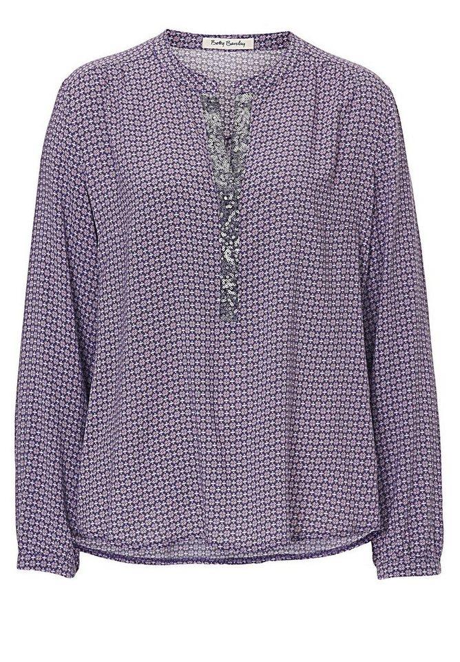 Betty Barclay Bluse in Purple/Violet - Bunt