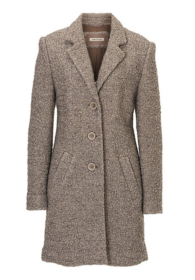 Betty Barclay Blazerjacke in Taupe Melange - Bunt