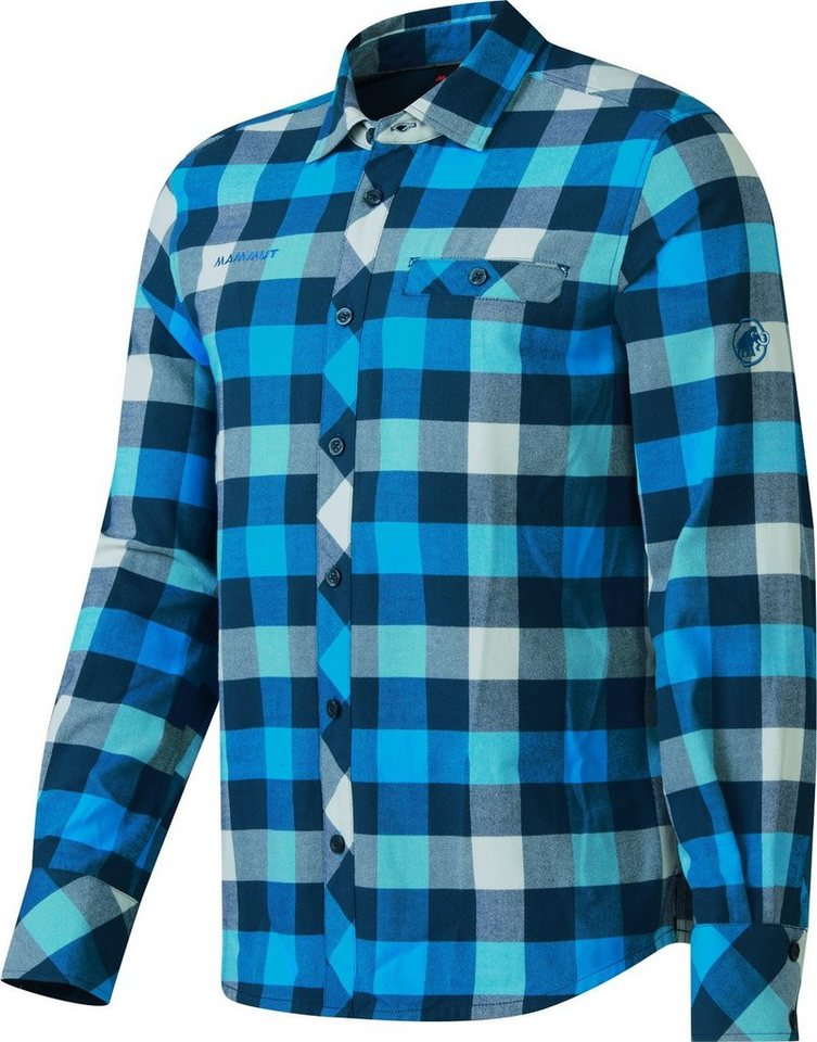 Mammut Sweatshirt »Belluno Winter Longsleeve Shirt Men« in blau