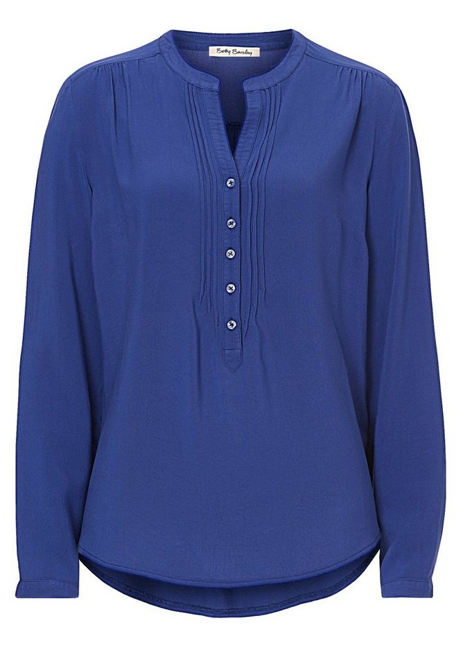 Betty Barclay Blaue Langarmbluse in royal blau - Bunt