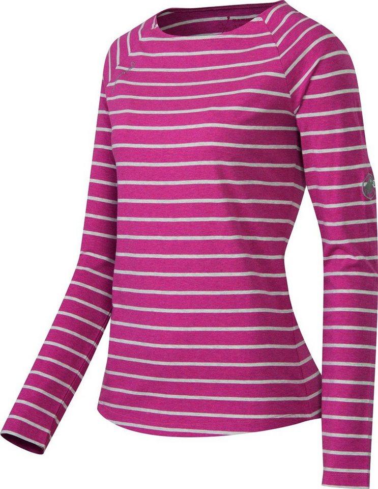 Mammut Shirt »Wall Longsleeve Shirt Women« in pink