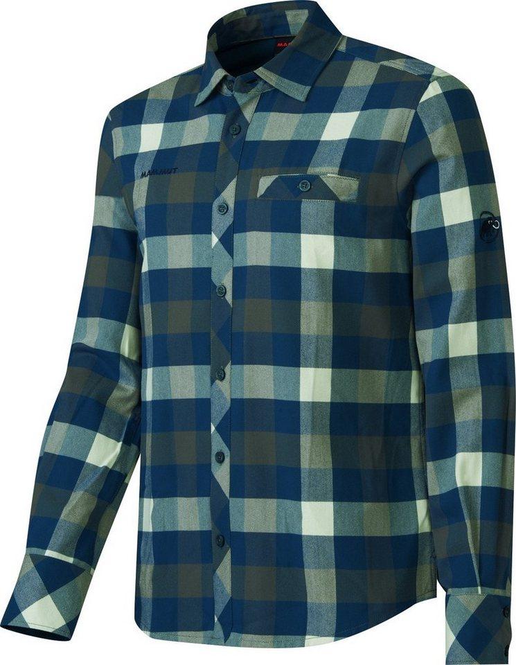 Mammut Sweatshirt »Belluno Winter Longsleeve Shirt Men« in grau