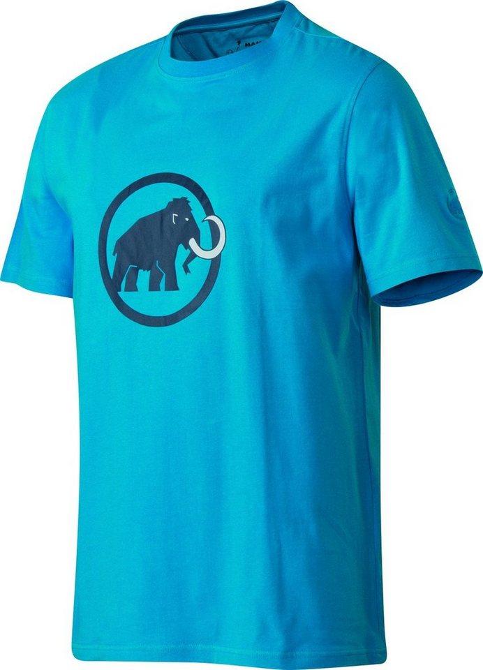 Mammut T-Shirt »Logo T-Shirt Men« in blau