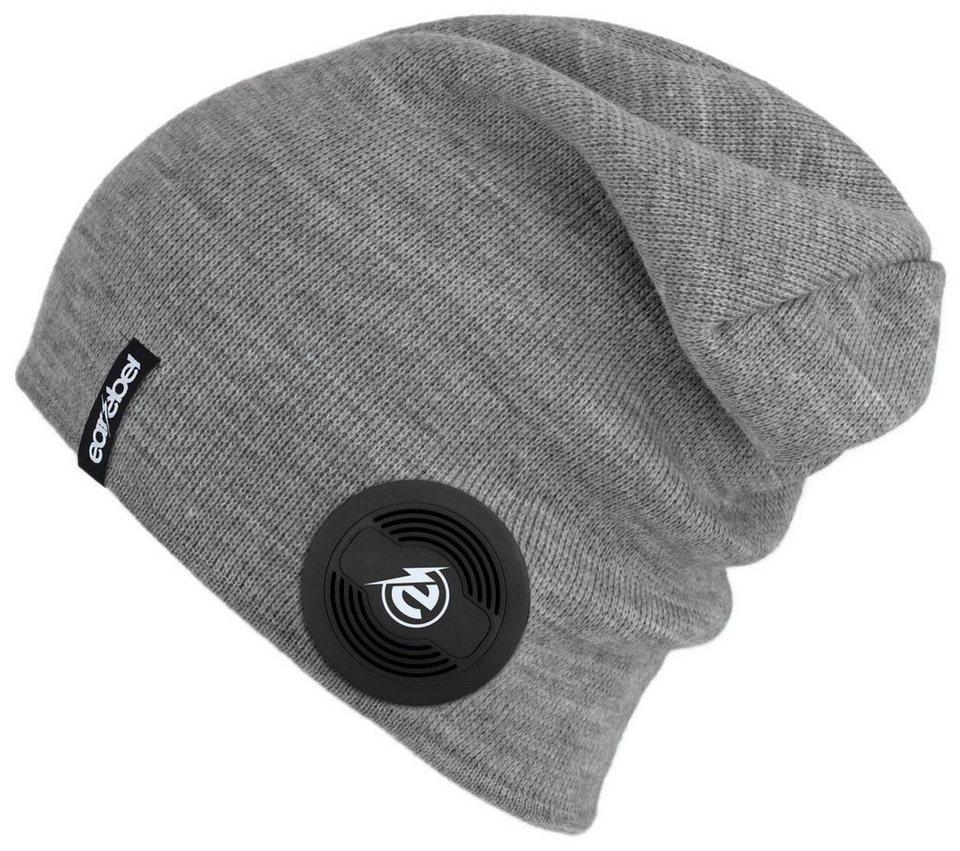 earebel Mütze mit integrierten Bluetooth-Kopfhörern, grau, »earebel Beanie Slim« in grau