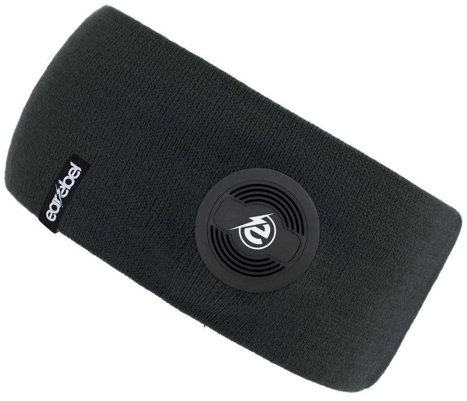 earebel Stirnband mit integrierten Kopfhörern, schwarz, »earebel Headband Slim« in schwarz