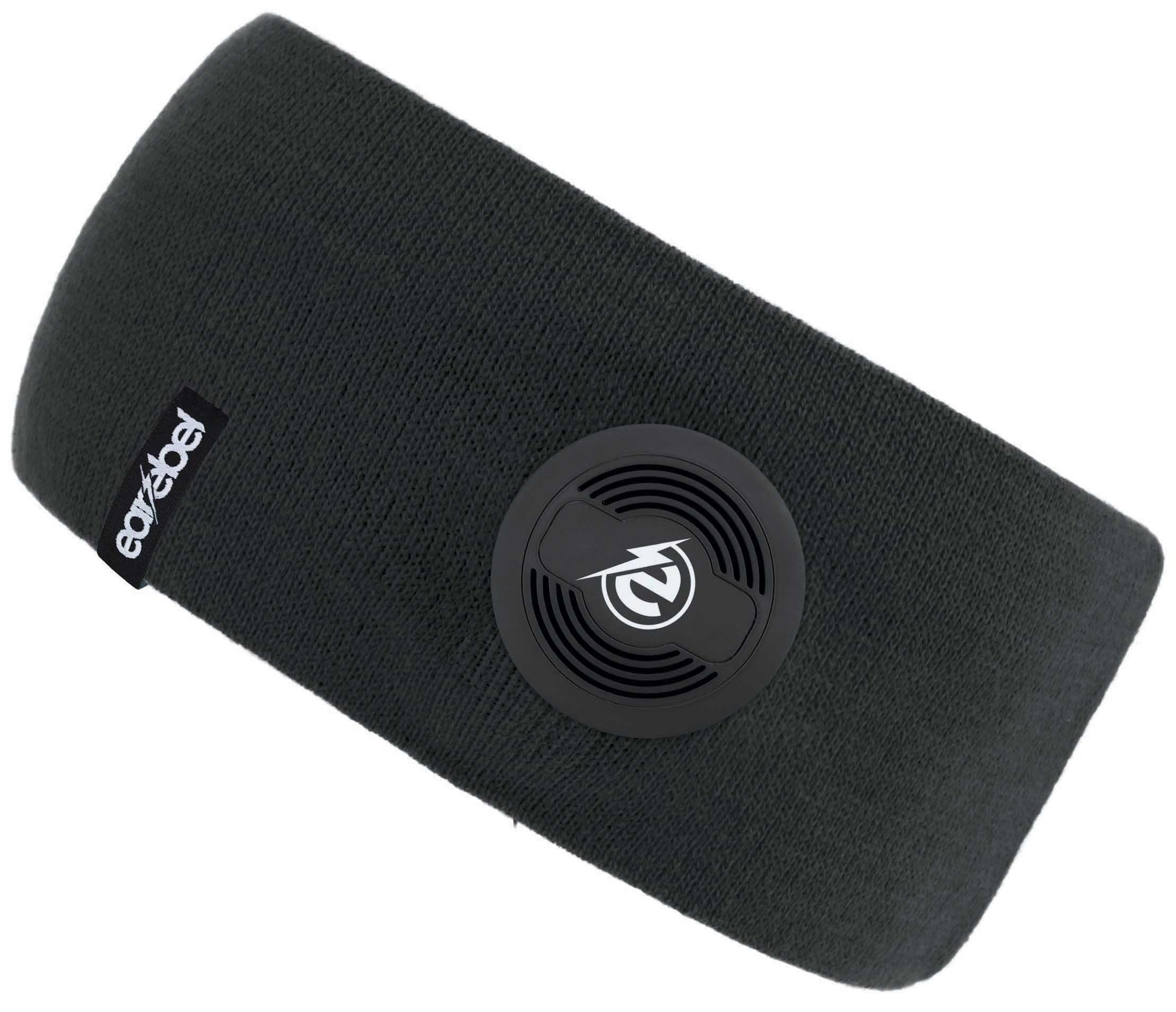 earebel Stirnband mit integrierten Kopfhörern, schwarz, »earebel Headband Slim«