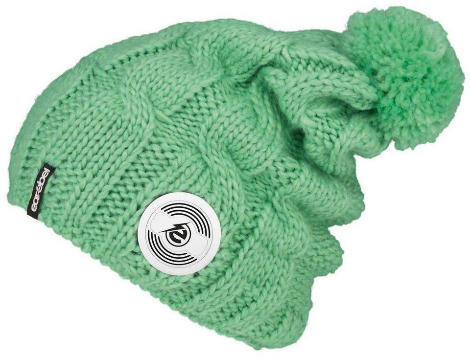 earebel Mütze mit integrierten Kopfhörern, »earebel Beanie Trenza« in mintgrün