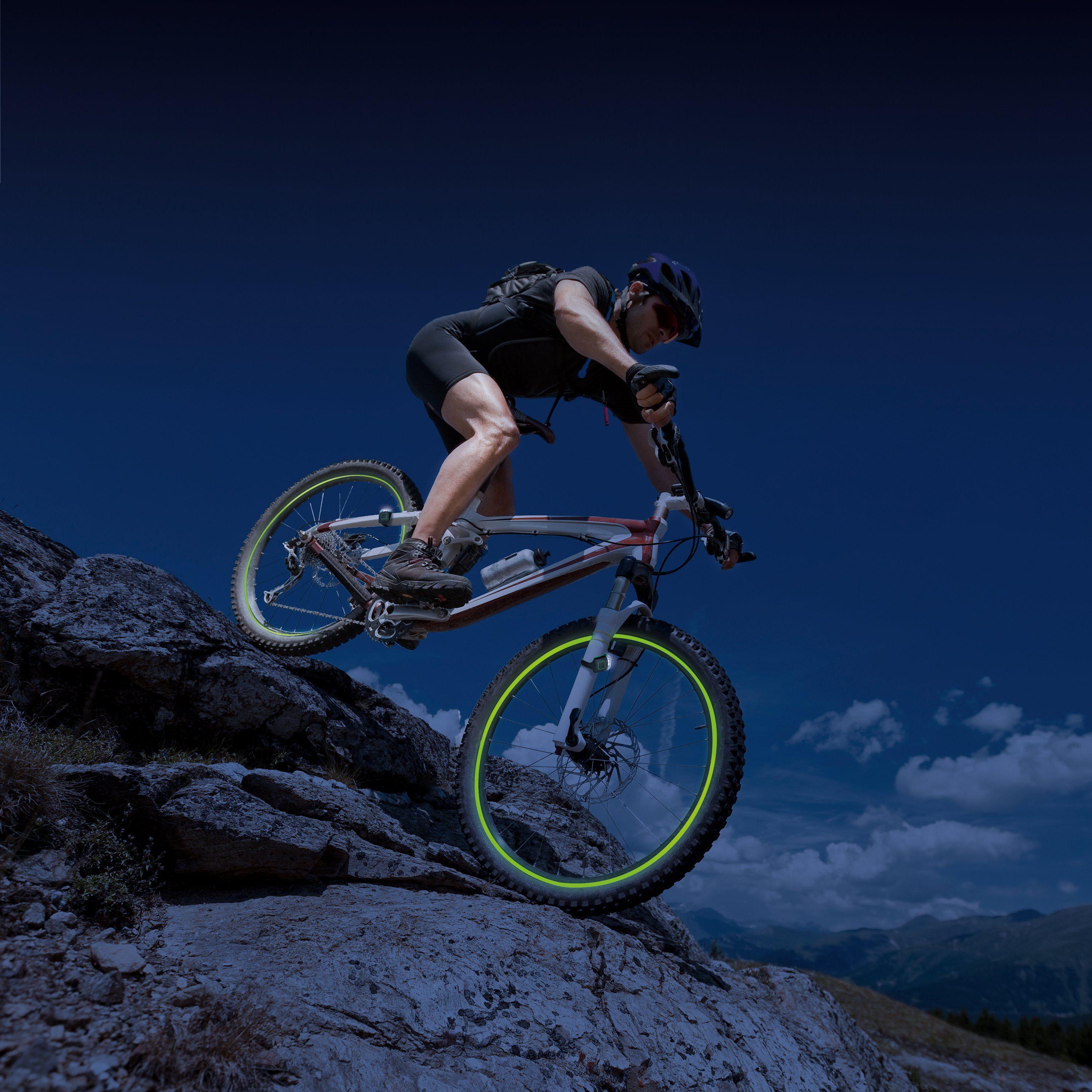 Glow Garage Fahrrad-Leuchtstreifen, 5tlg. Set, »Glow Garage Fun-Leuchtstreifen«