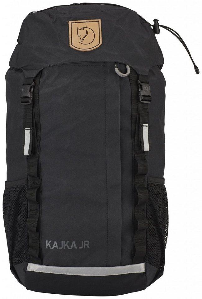 Fjällräven Sport- und Freizeittasche »Kajka Backpack Junior« in schwarz