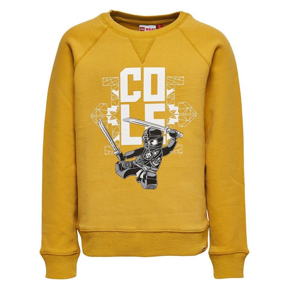 """LEGO Wear Ninjago Sweatshirt """"Cole"""" Skeet langarm Shirt in gelb"""