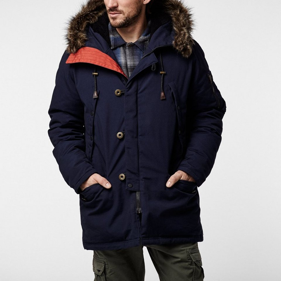 O'Neill Funktionsjacke »Cold Conditions Parka« in Nachtblau