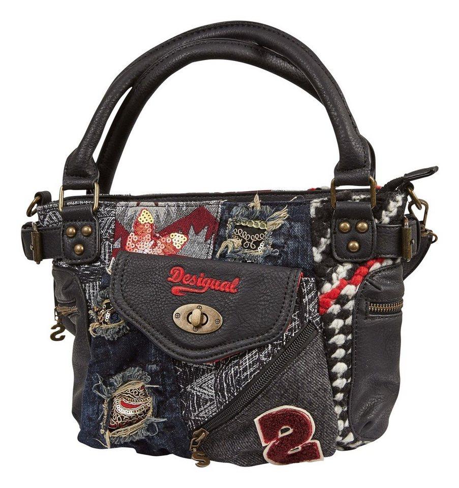 Desigual Handtasche »BOLS MCBEE MINI NORWAY« in schwarz