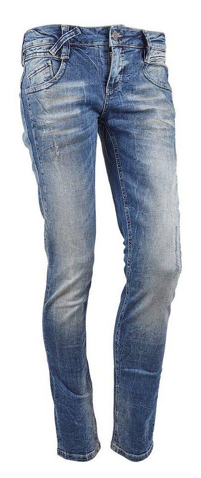Fritzi aus Preußen Jeans »Indiana« in blau