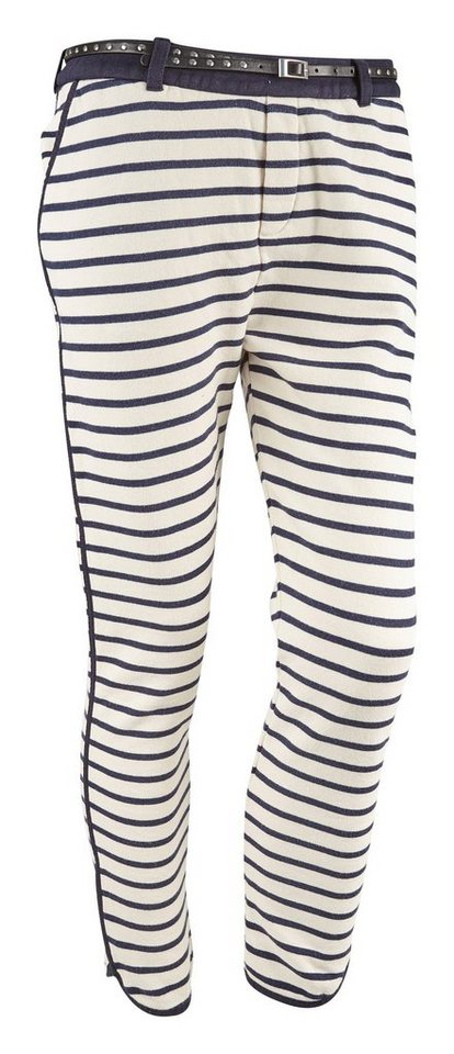 Maison Scotch Hose »Sweat pant in various qualities, sold with a belt« in blau