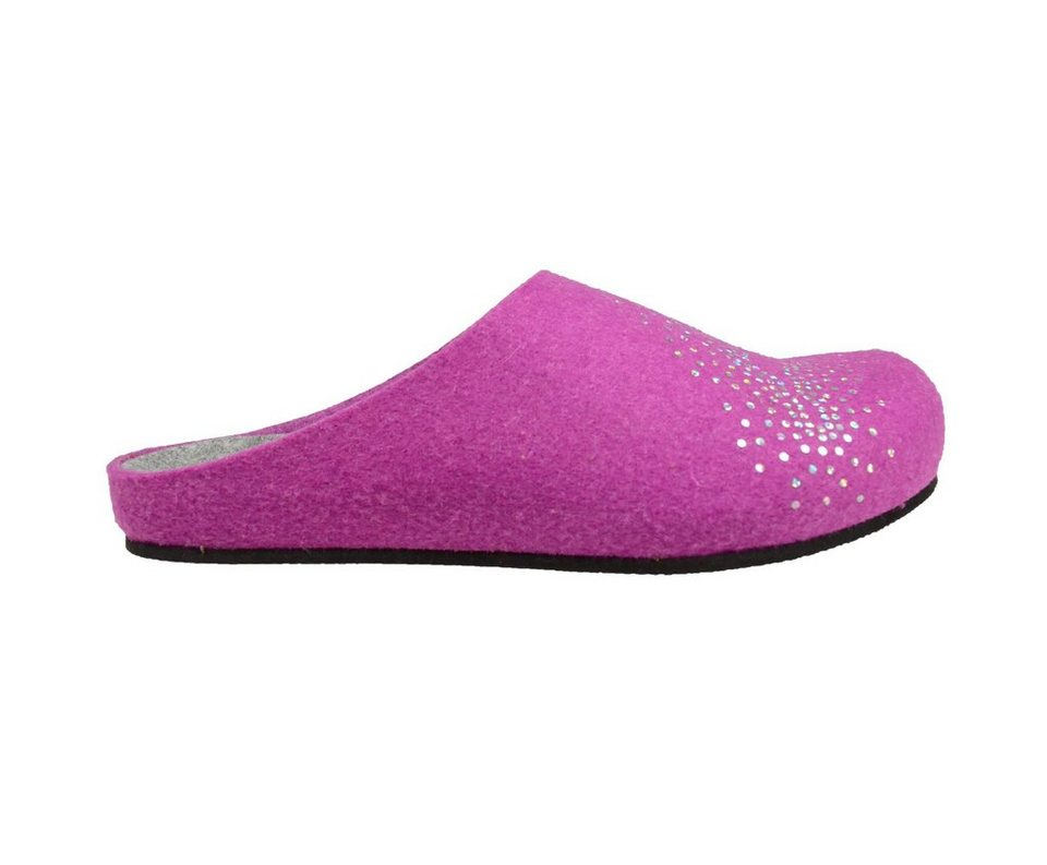 LICO Slipper »Natural diamond« in pink
