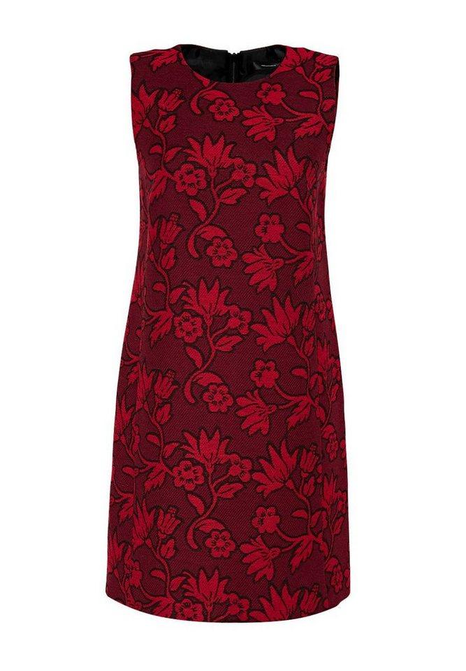 HALLHUBER Jacquard-Kleid mit Metallzipper in multicolor