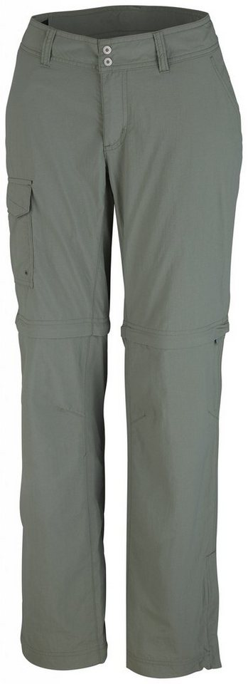 Columbia Outdoorhose »Silver Ridge Convertible Pant Short Woman« in oliv