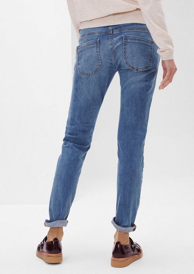 s.Oliver RED LABEL Shape Superskinny: Bluejeans in blue denim stretch