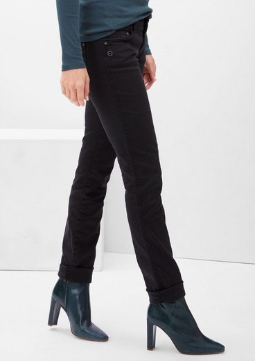 s.Oliver RED LABEL Shape Slim: Colored Stretch-Jeans