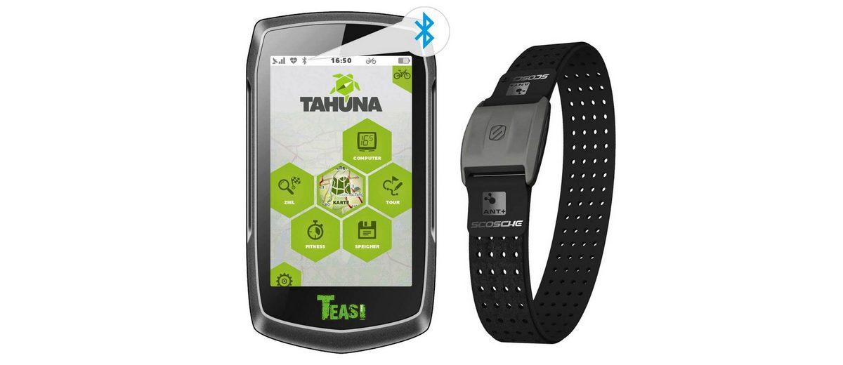 TEASI Fahrradnavigationsgerät »ONE³ pulse Premium«