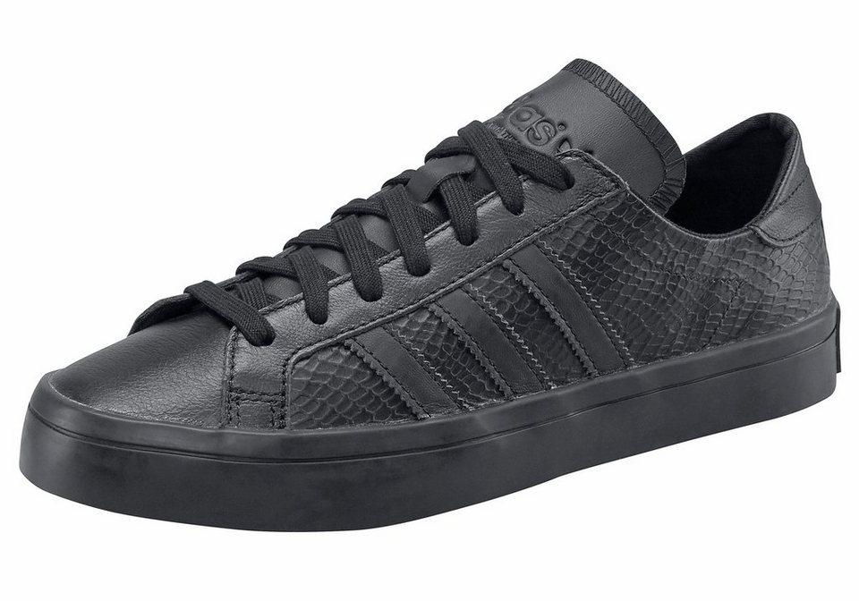 adidas Originals »Courtvantage W« Sneaker in schwarz
