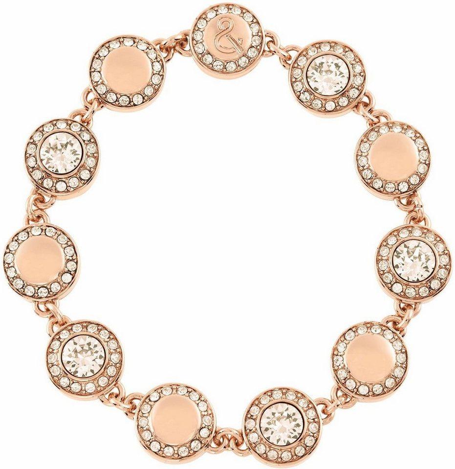 Lolaandgrace Armband »VIENNA ALL-AROUND BRACELET, 50099530« mit Swarovski® Kristallen in roségoldfarben-weiß
