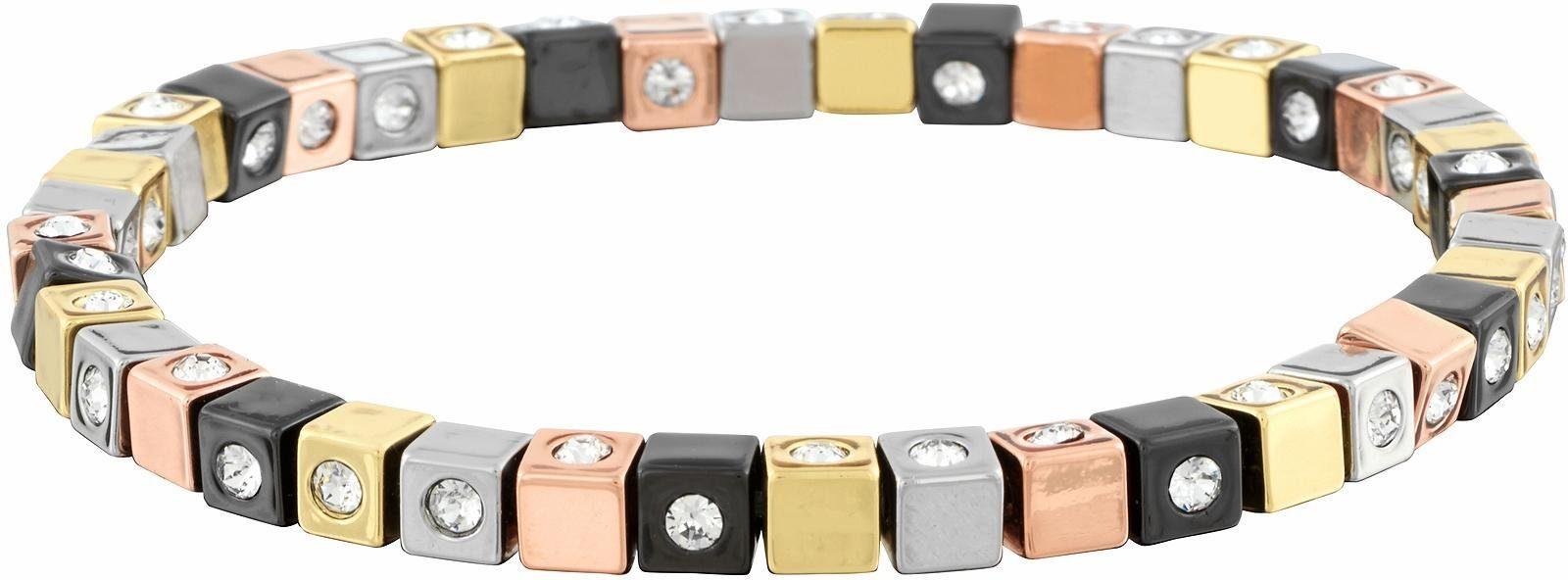 Lolaandgrace Armband »CUBE BRACELET, 5117297«, mit Swarovski® Kristallen