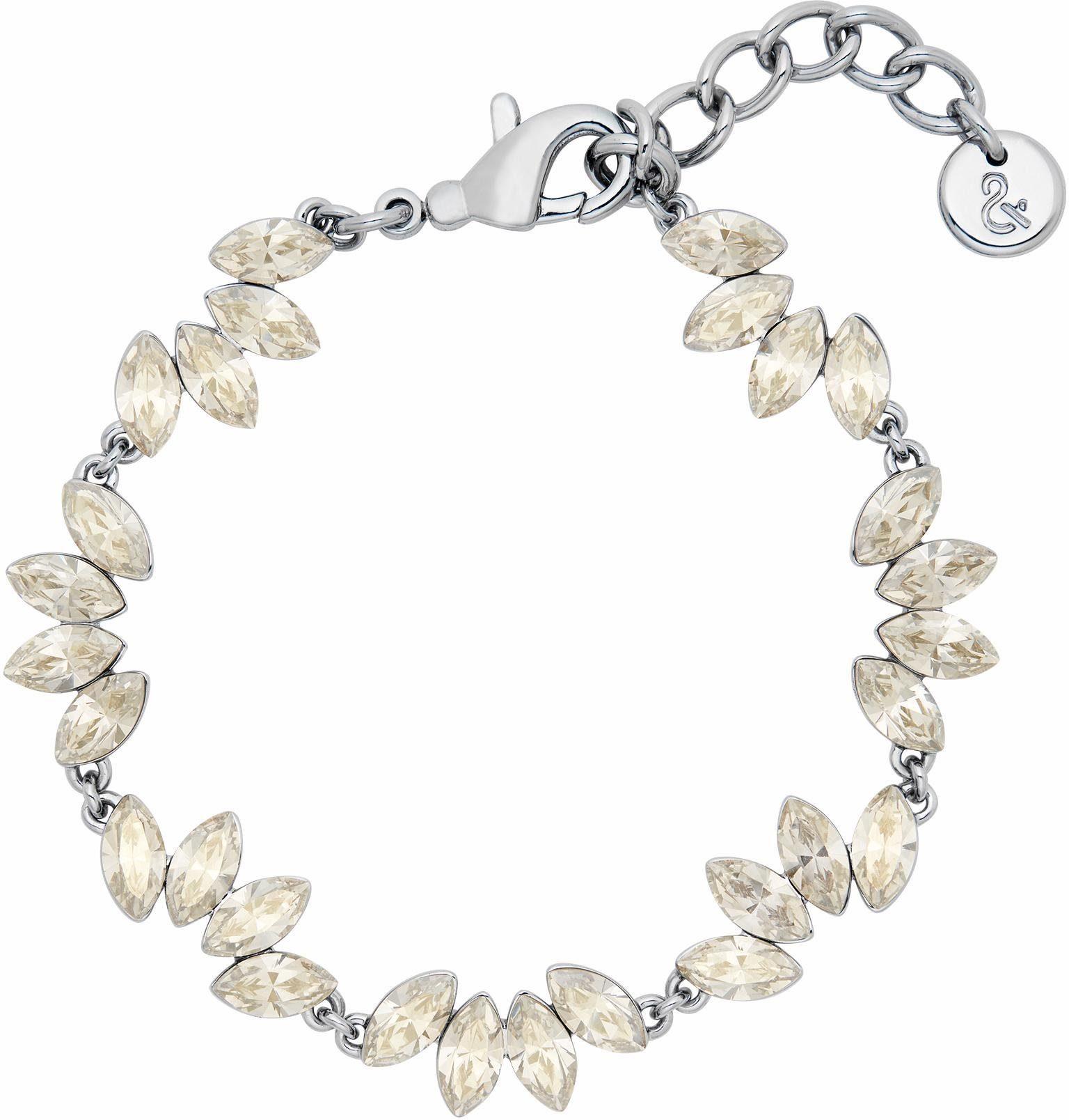Lolaandgrace Armband »LEAF BRACELET, 5251743« mit Swarovski® Kristallen