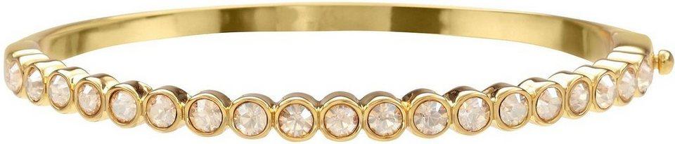 Lolaandgrace Armreif »LANE BANGLE, 5028127« mit Swarovski® Kristallen in goldfarben-champagner