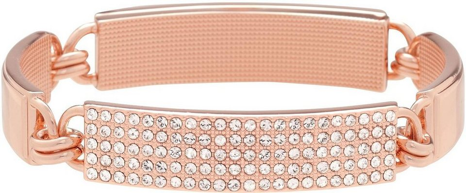 Lolaandgrace Armband »SYDNEY BRACELET, 5051556« mit Swarovski® Kristallen in roségoldfarben