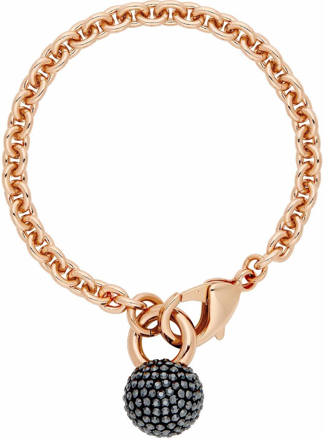 Lolaandgrace Armband »RIO CHAIN BRACELET, 5251830« mit Swarovski® Kristallen