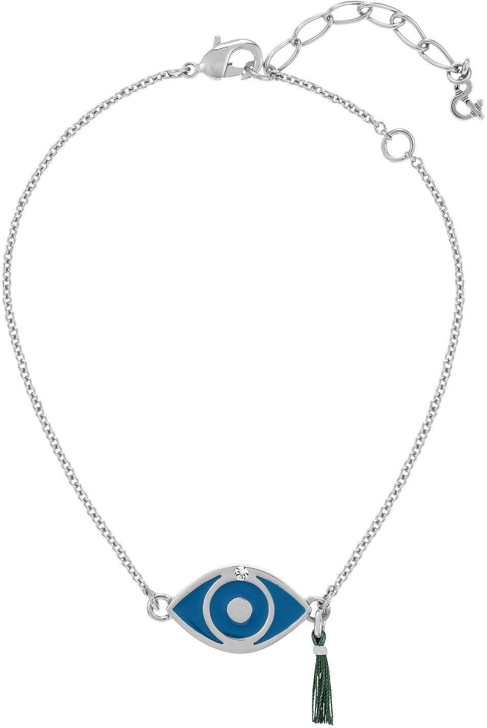 Lolaandgrace Armband »Auge, SPIRITUAL: BRACELET EVIL EYE, 5167773«, mit Swarovski® Kristall