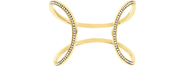 Lolaandgrace Armspange »MILAN OPEN CUFF, 5182876« mit Swarovski® Kristallen