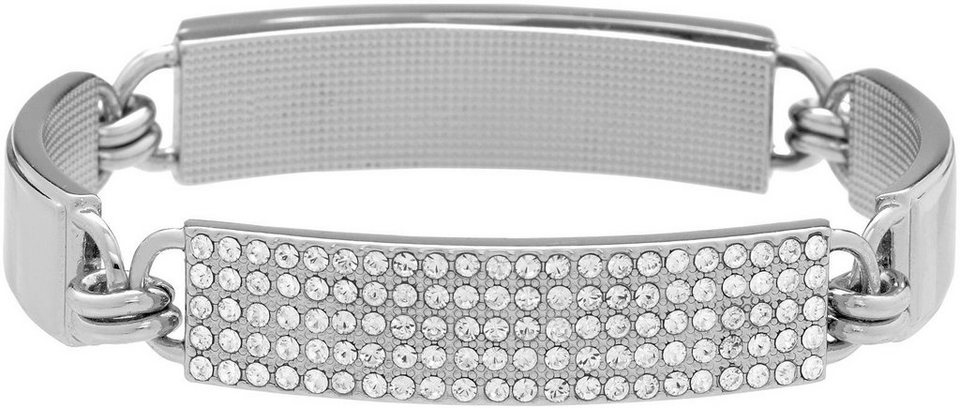 Lolaandgrace Armband »SYDNEY BRACELET, 5036106« mit Swarovski® Kristallen in silberfarben