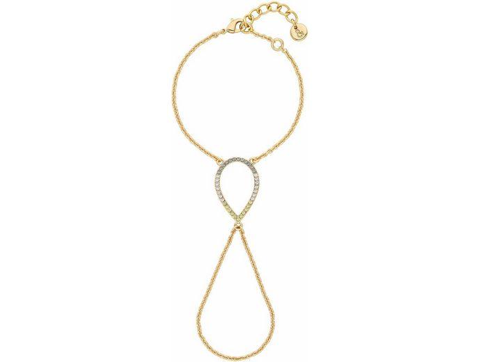 Lolaandgrace Armband »CAPRI BRACELET-TO-RING, 5251963« mit Swarovski® Kristallen