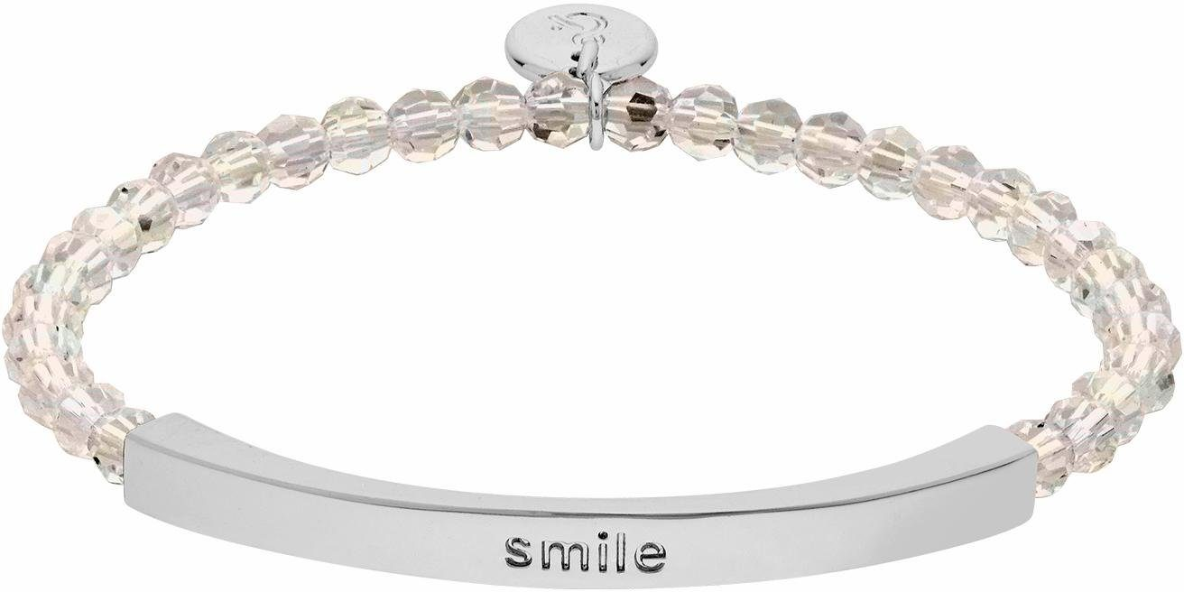 Lolaandgrace Armband »COAST SMILE BRACELET, 5251924«, mit Swarovski® Kristallen